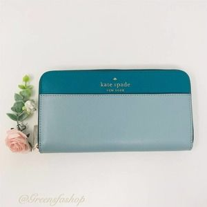 New Kate Spade staci large continental wallet